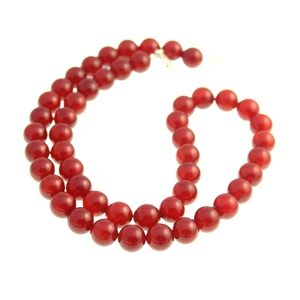18 Inch Carnelian Necklace