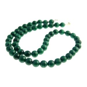 18 Inch Malachite Necklace