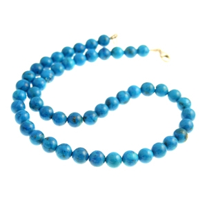 18 Inch Turquoise Necklace